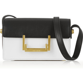 SAINT LAURENT - Lulu small two-tone leather shoulder bag