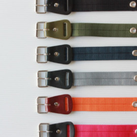 "Necessary or Unnecessary - [Necessary or Unnecessary] 【再入荷】 belt ""nylon"""