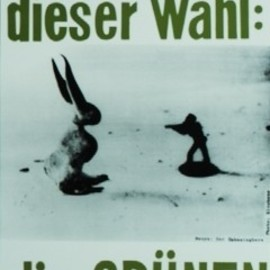 Joseph Beuys - Election Poster for the Green Party
