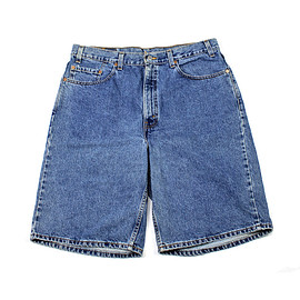 "LEVI'S - Vintage 90s Levis 550 Relaxed Fit ""Jorts"" Made in USA Mens Size W38"