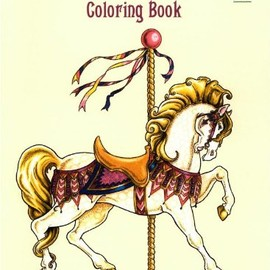 christy shaffer - Carousel Animals Coloring Book (Dover Coloring Books)