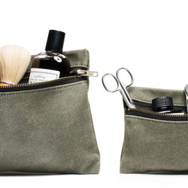 Kaufmann Mercantile - Zippered Waxed Canvas Pouch