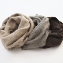 VICTIM - CASHMERE RING MUFFLER