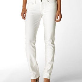 LEVI'S - Modern Demi Curve Straight Jeans (White)