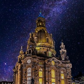 Dresden Frauenkirche - Milky Way