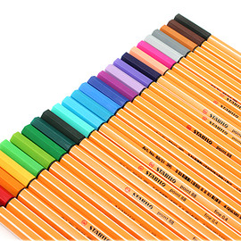 STABILO - Stabilo Point 88  - 25 Color Rollup Set