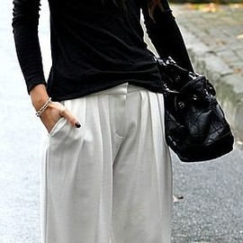 love style - black and white