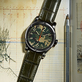 RALPH LAUREN - Sporting Collection RL67 safari Chronometer camouflage