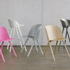 Stefan Diez, e15 - This That Other collection; dining chair(This) / low lounge chair(That) / high stool(Other)