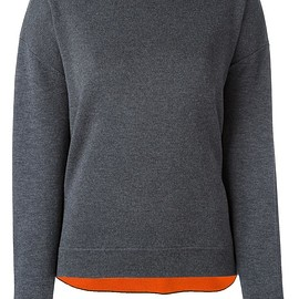 Enföld - crew neck loose-fit jumper