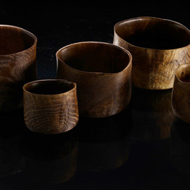 Ernst Gamperl - Objects in oak blackend and lime washed