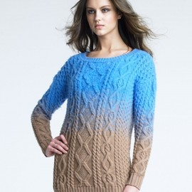 DSQUARED2 - 【'12Fall】 Two-Tone Knit Sweater