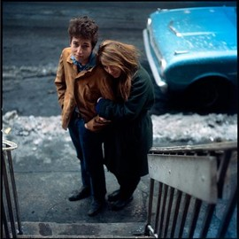 Bob Dylan and Suze Rotolo, NYC, 1963