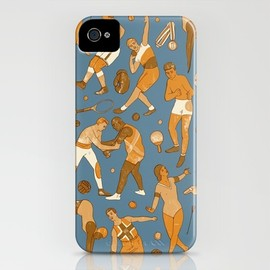 Society6 - olympic pattern iPhone Case