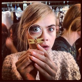 Cara Delevingne - love style