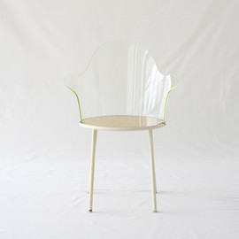 Shiro Kuramata - Acrylic back chair for piacere