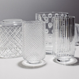 "Nendo - ""Patchwork"" glass collection, for Lasvit Edition"