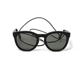 nonnative - DWELLER SUNGLASSES WITH LEATHER CORD by KANEKO OPTICAL