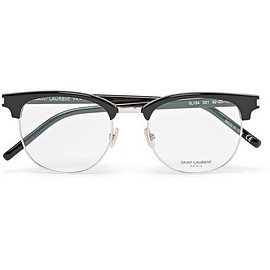Saint Laurent - D-Frame Metal and Acetate Optical Glasses