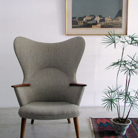"Hans J. Wegner - Wing Back Chair "" Mama Bear """