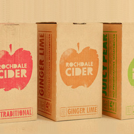rochdale cider packaging