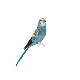PUEBCO - ARTIFICIAL BIRDS - BUDGIE/BLUE