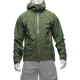 HOUDINI - Fusion Jacket Green/Green Planet