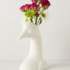Anthropologie - animal head vase