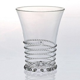 "Juliska  - ""Amalia"" Clear Glass Tumbler"