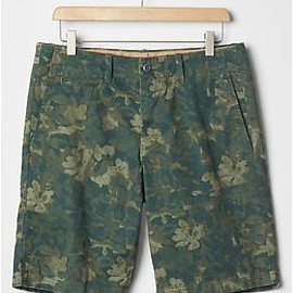 """GAP - Lived-in floral print shorts (10"""")"""
