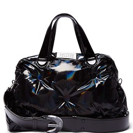 Maison Margiela - Resort 2019 Glam Slam holographic PVC bowling bag