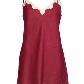 Sabbia Rosa - Silk and lace Slip dress