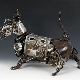Steampunk-dog