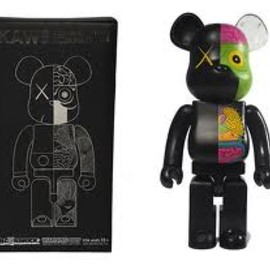 Original Fake, MEDICOM TOY - 人体模型 COMPANION BE@RBRICK 400%/Black