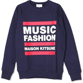 MAISON KITSUNE - WEATER WITH PRINT 1 MFM