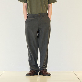 POST O'ALLS - New Maker Pants Poly Heather-Charcoal Heather