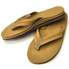 Rainbow Sandals - Premier Leather Double Layer Arch