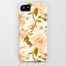 Society6 - Magnolia Pattern iPhone Case
