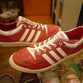 "adidas - 「<used>80's adidas TOPTEN LOW red""made in USA"" size:US10?(28cm?) 158000yen」完売"