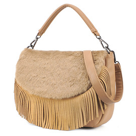 Vivi Leather Tassel Bag&Sling Bag for big sale!