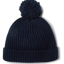 Connolly - + Goodwood Ribbed Cashmere Beanie