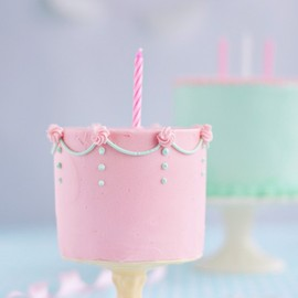 Sweetapolita - a Little Wee Birthday Cake for A Little Wee Cakelet