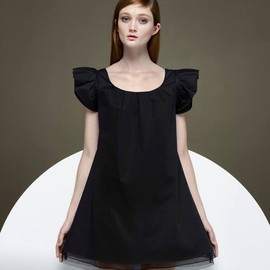THAKOON - Thakoon x Barneys New York Ruffle-Sleeve A-line Dress