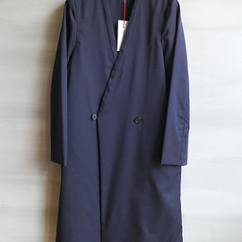 COMMONO reproducts - COMMONO reproducts / Double Button Coat [NAVY]