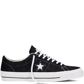 Converse CONS - One Star Hairy Suede Black