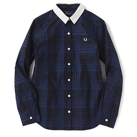 FRED PERRY - Tonal Check Shirt