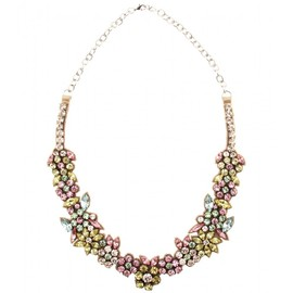 VALENTINO - CRYSTAL BEAD EMBELLISHED NECKLACE