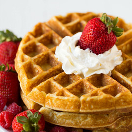 Brown Eyed Baker - Classic Buttermilk Waffles