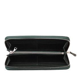 Whitehouse Cox - S2622 LONG ZIP WALLET / BRIDLE GREEN