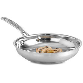 """Cuisinart - Chef's Classic Stainless Steel 8"""" Skillet"""